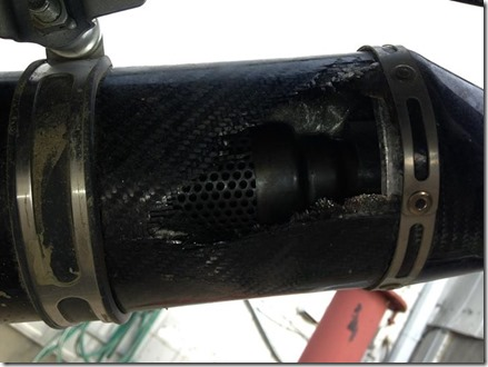 aftermarket pipe damage